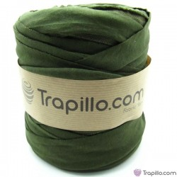 Trapillo Verde Oliva reverso con textura 6340