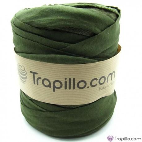 Trapillo Verde Oliva reverso con textura 6340