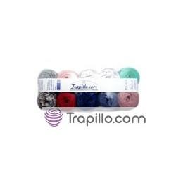 Pack de 10 mini rollos colores variados