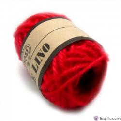 Bobina de lino Rojo