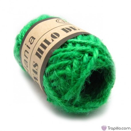 Bobina de lino Verde Hierba