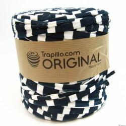 Trapilho  Estampado Azul Marino y Blanco 6725
