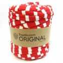 Red and White pattern T-shirt Yarn 6799