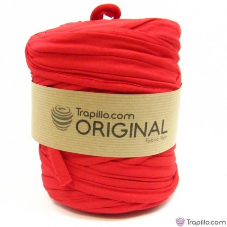 Tissu recycle Rouge 6832