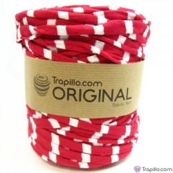 Trapillo Estampado Rojo y Blanco 6921