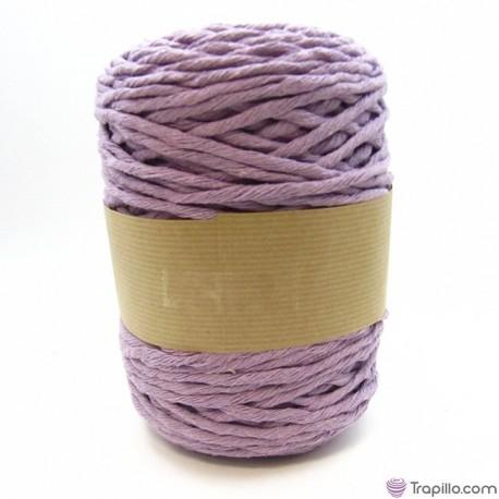 Cuerda de algodón torcido de 5 mm Azul