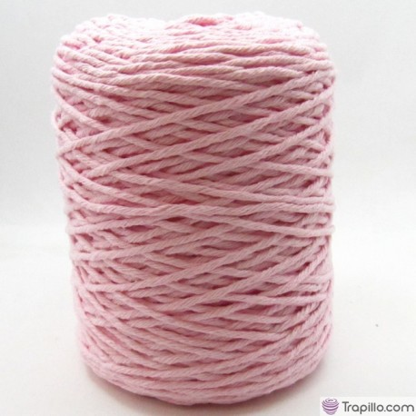 Cuerda de algodón torcido de 4 mm bebe