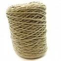 Cuerda de algodón torcido de 4 mm Beige
