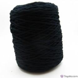 Cuerda de algodón torcido de 4 mm Negro