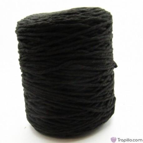 Cuerda de algodón torcido de 4 mm Marrón chocolate