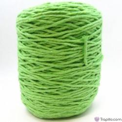 Cuerda de algodón torcido de 4 mm Verde lima