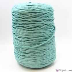 Cuerda de algodón torcido de 4 mm Verde menta