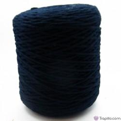 Cuerda de algodón torcido de 4 mm Azul marino