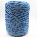 Cuerda de algodón torcido de 4 mm Azul pastel