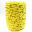 Cuerda de algodón torcido de 4 mm Amarillo