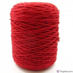 Cuerda de algodón torcido de 4 mm Rojo