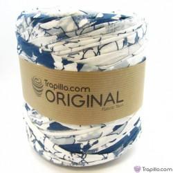 Trapillo o Azul y blanco 7077