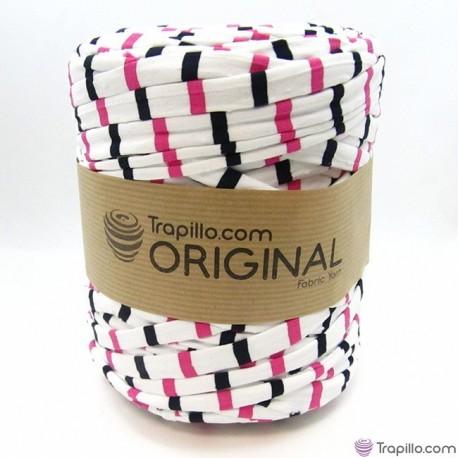 Tissu recycle   fuchsia 6835