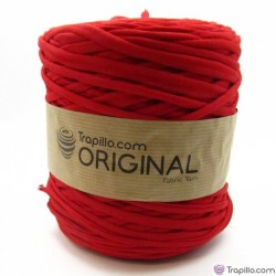 Bleeding red T-shirtyarn 7161