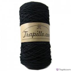 Cuerda de algodon torcido nº 1 - Negra