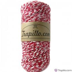 Cuerda Algodón Rojo y Blanco
