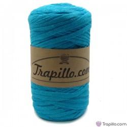 Trapillo Pluma Azul Turquesa