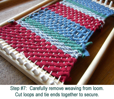 weaving step-7
