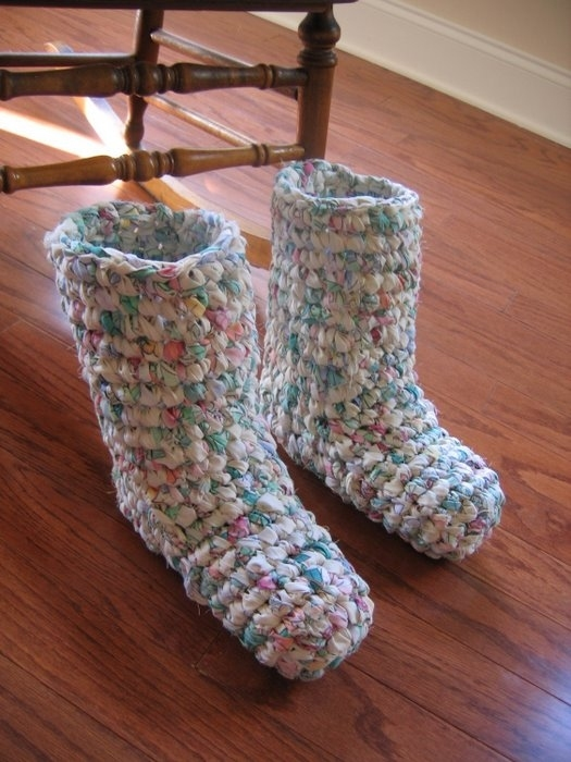 Como Hacer Pantuflas De Crochet