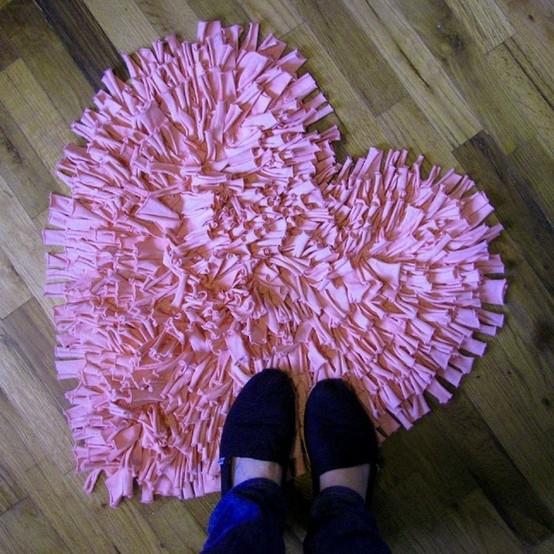 Modelos de alfombras de trapillo anudado el blog de - Telas para alfombras ...