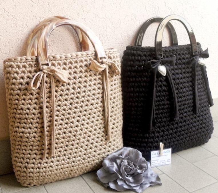 Modelos de bolsos de trapillo el blog de for Bolso crochet trapillo