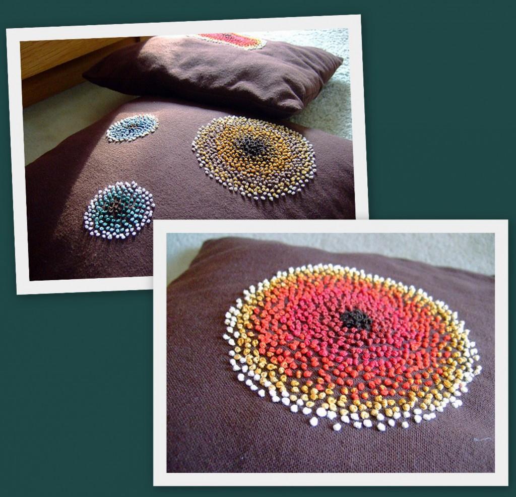 Formas de hacer almohadones de trapillo el blog de - Como hacer alfombras con trapillo ...