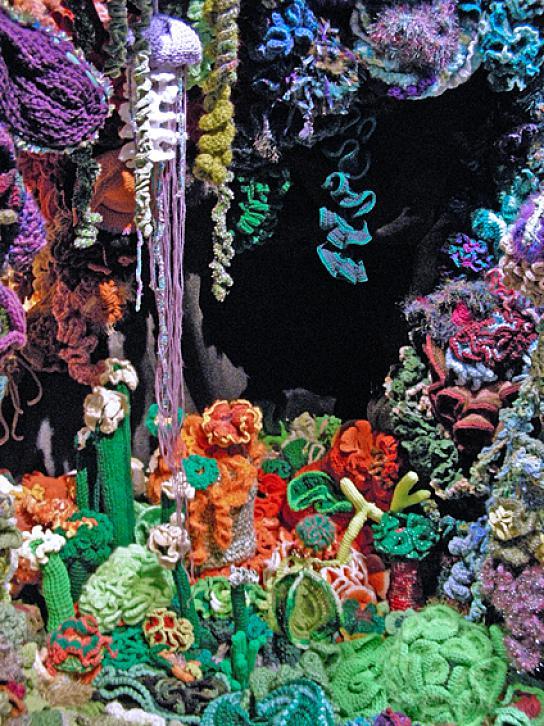 Crochet, arte y ecología: proyecto arrecifes de coral | El blog de ...