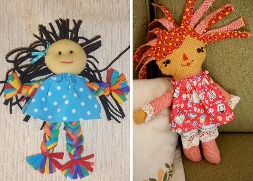 muñecas-tela-reciclada
