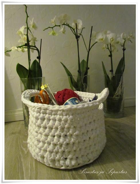Esquemas de cestos de trapillo con asas  El blog de trapillocom