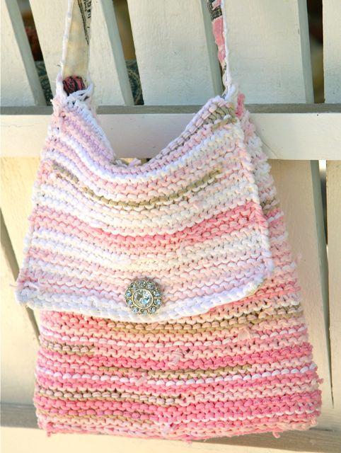 Patrones de bolsos tejidos | El blog de trapillo.