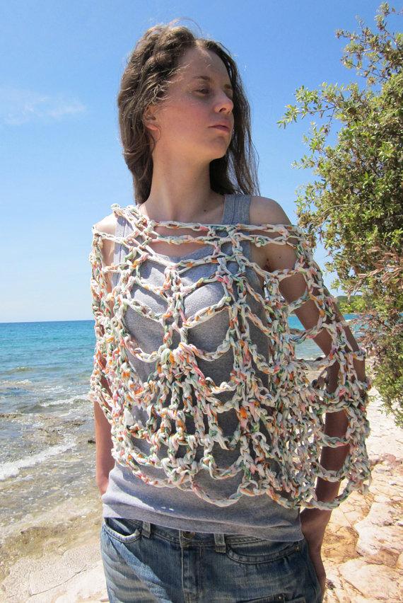 Prendas de verano tejidas con tela | El blog de trapillo.