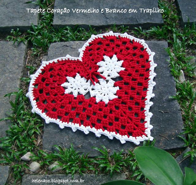 Esquemas de tapetes con forma de corazón | El blog de trapillo.com