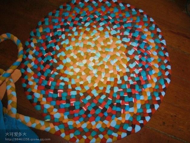 Consejos e ideas para alfombras con trenzas de 3 el blog - Como hacer alfombras con trapillo ...