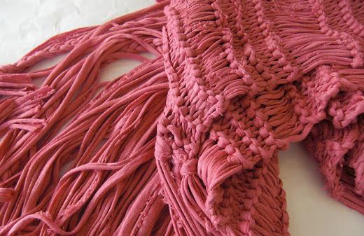 Bufandas y chales de trapillo | El blog de trapillo.com
