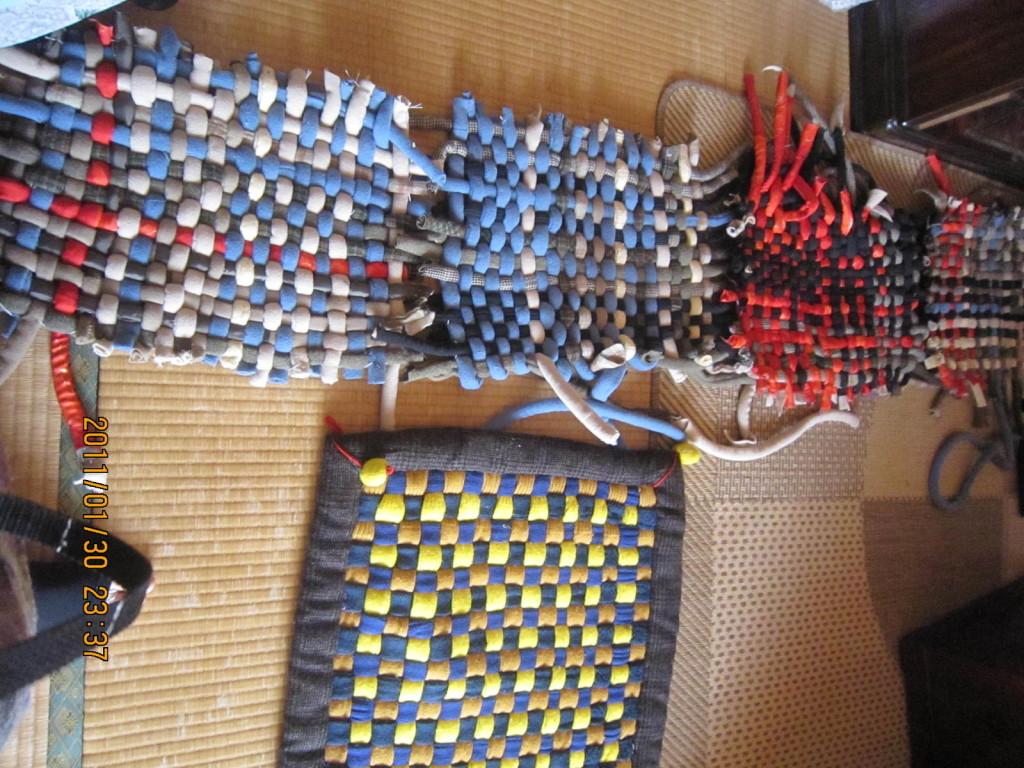 Telar ganchillo unido geom tricas modelos de alfombras - Alfombras originales ...