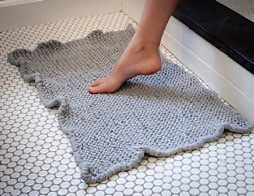 3 patrones de alfombras xl el blog de - Alfombras de bano originales ...