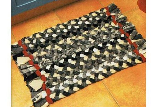 alfombra trenzas