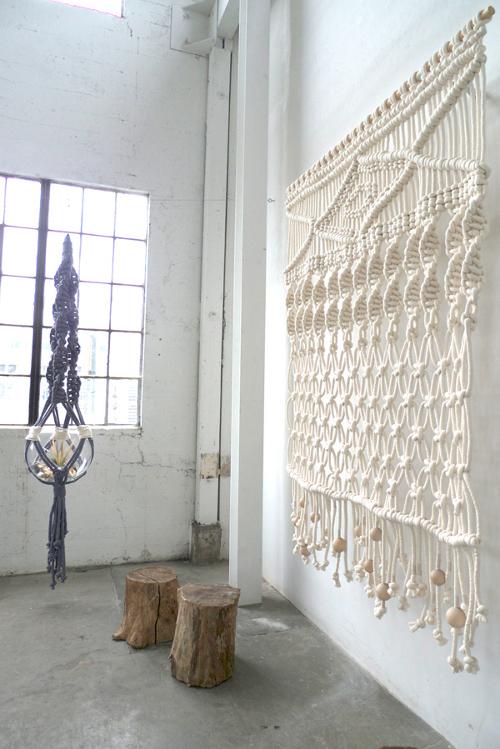 Cortinas, separadores y tapices en macramé o crochet XL | El blog de ...