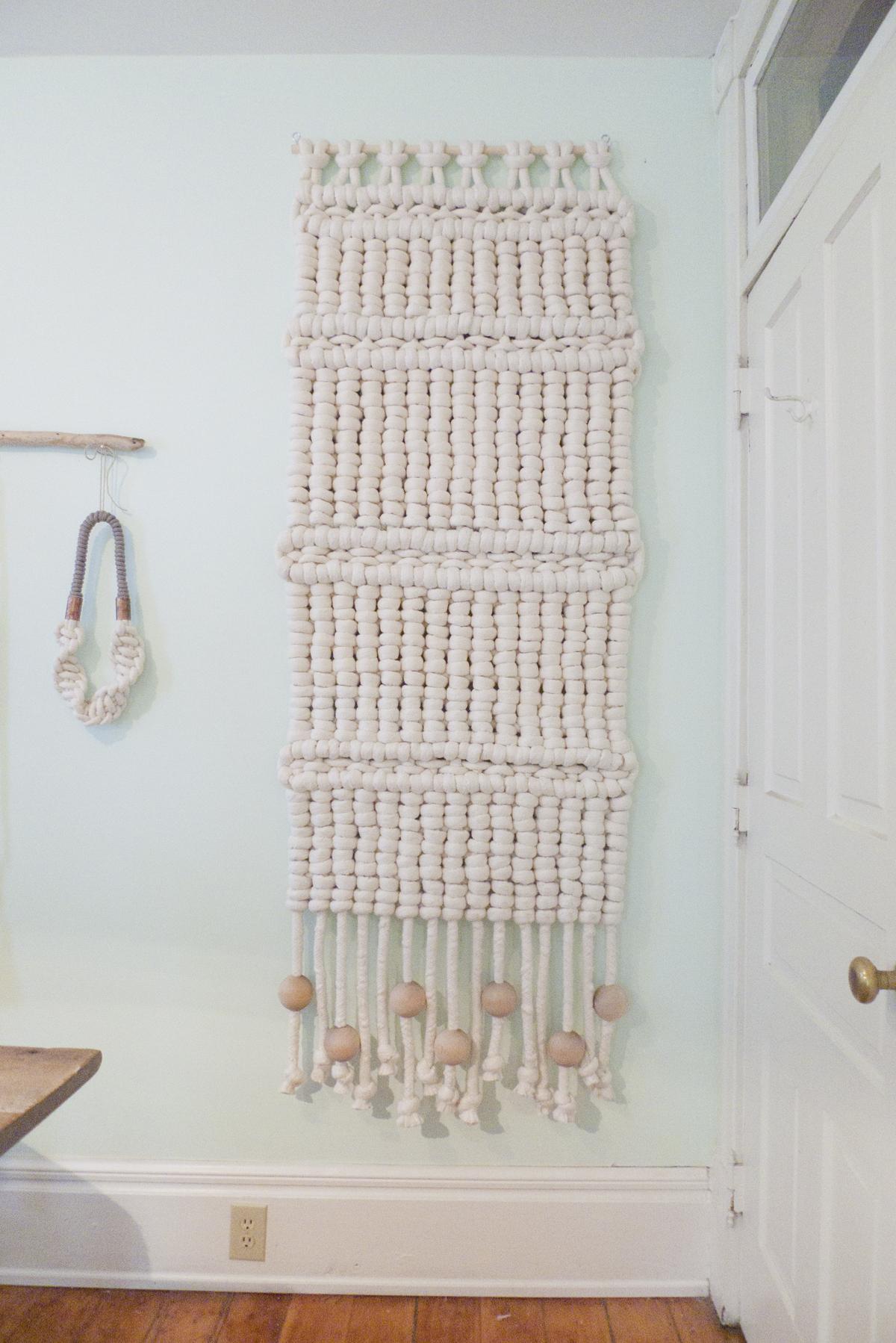 Cortinas separadores y tapices en macram o crochet xl - Tapices de macrame ...