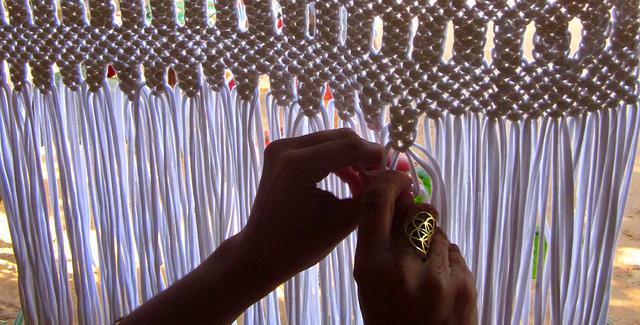 Cortina crochet paso paso imagui - Como hacer cortinas de tiras ...