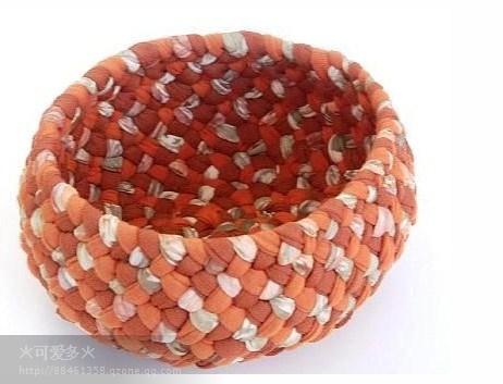 Modelos de cestos de trapillo originales el blog de - Cestos decorativos ...