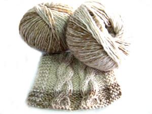Foto de muestra de labor con lanas Denver