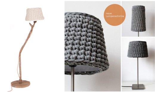 Lampara reciclada el blog de - Pantallas de lamparas de mesa ...