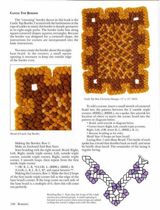 Costuras para alfombras de trenzas de 3 con formas | El blog de ...