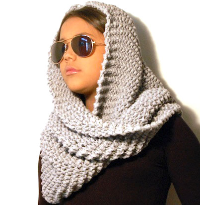 bufandas a crochet modernas